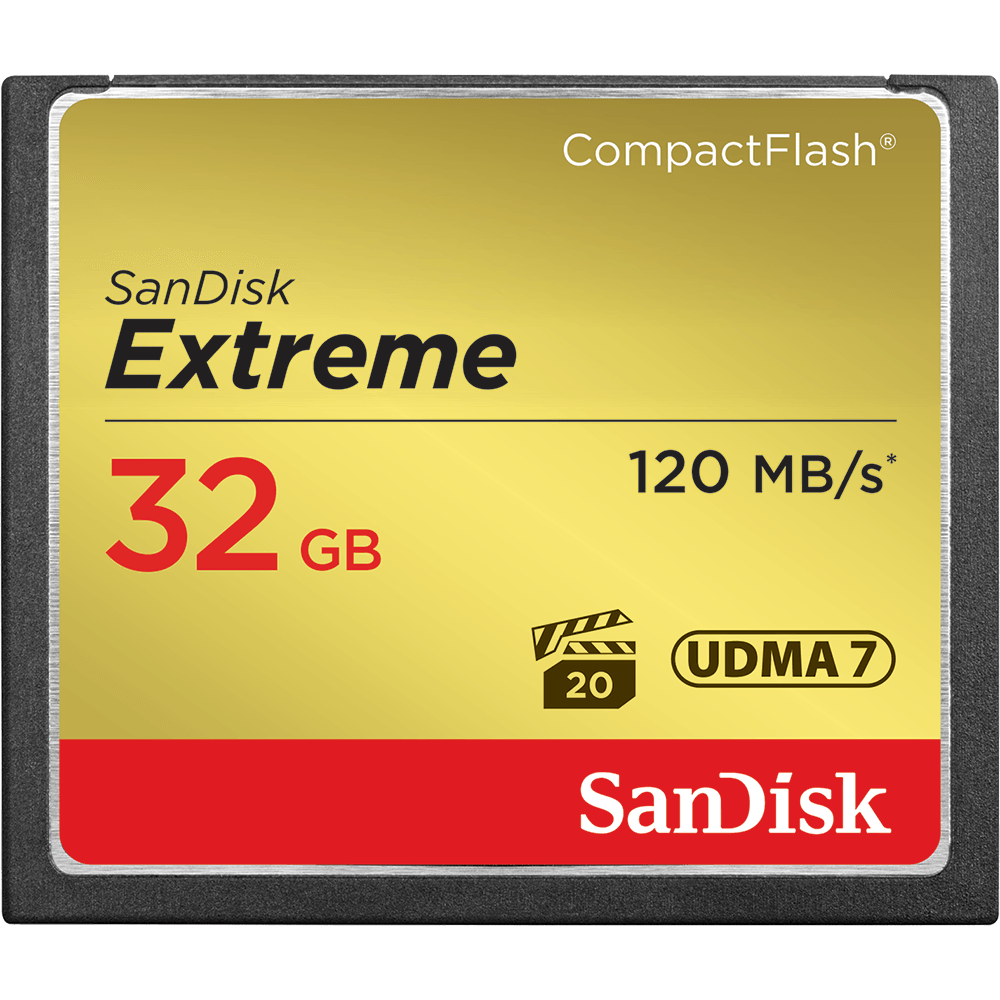 SanDisk Extreme<sup>®</sup> CompactFlash<sup>®</sup> 記憶卡